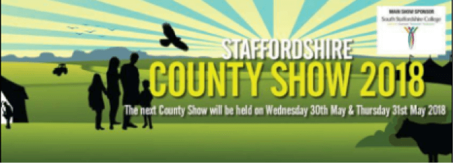 Staffordshire County Show Results 2019
