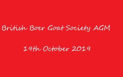 British Boer Goat AGM