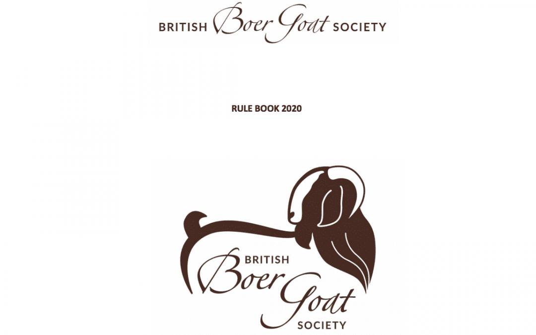 BBGS Rule Book 2020