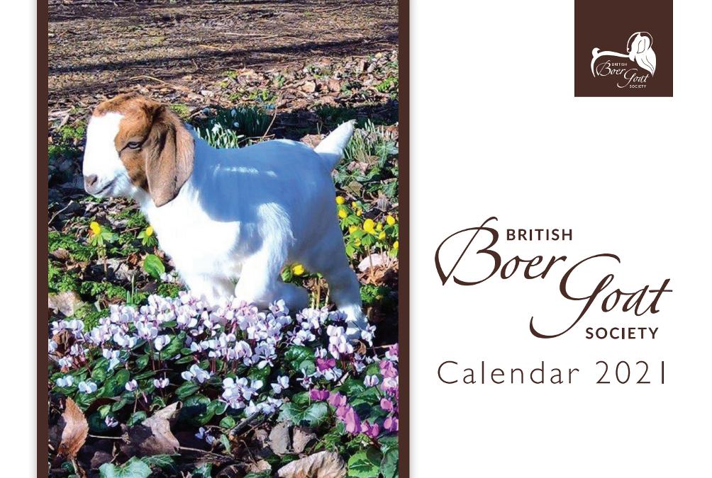 BBGS Calendar 2021